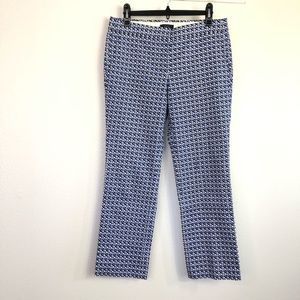 J. Crew Capri Abstract Print Pants Size 4